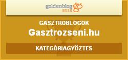 HVG Goldenblog 2012 hivatalos arany plecsni