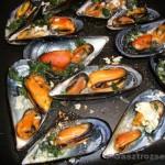 Fokhagymás-petrezselymes fekete kagyló